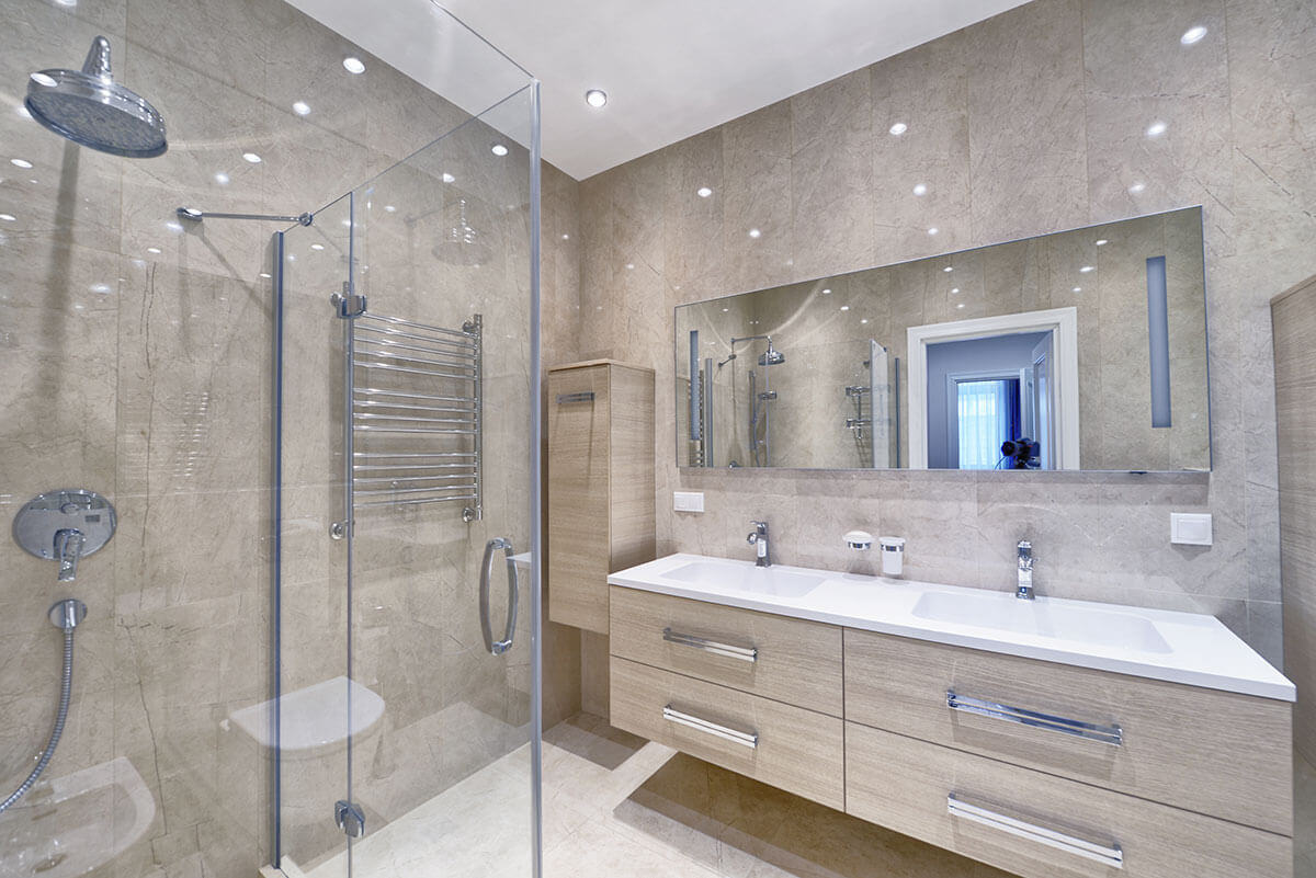 Shower Door Mirrors Residential Design Services