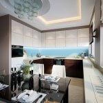 Modern elegant and luxurious kitchen