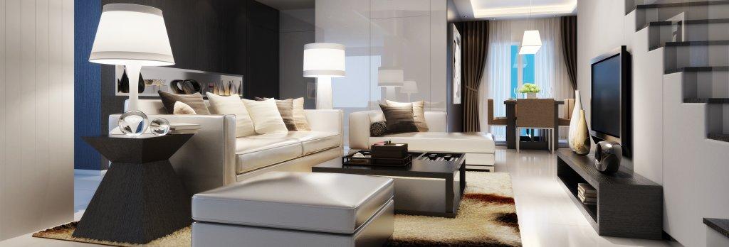 Modern House Interior (panoramic)