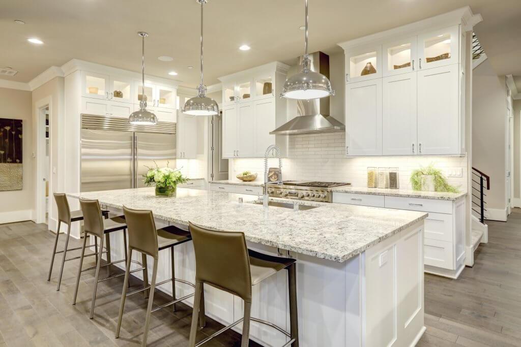 Coastal Contemporary Kitchen Residential Design Services