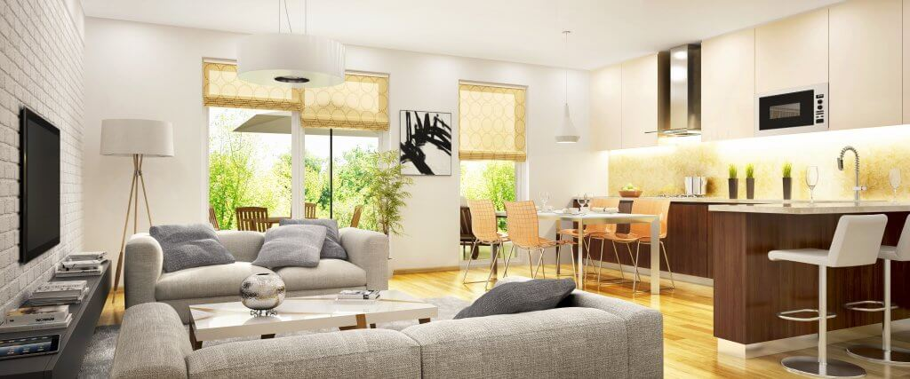 Transitional Eclectic Living Rooms Residential Design