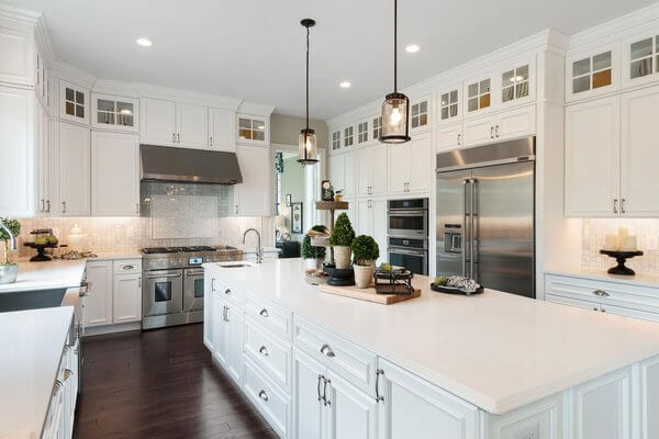toll white kitchen